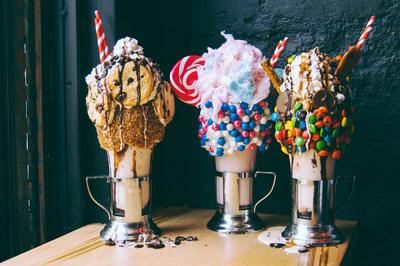 CrazyShake™ milkshakes at Black Tap Craft Burgers & Beer.