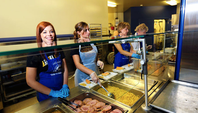 The Society of St. Vincent de Paul's Dining Halls Will Serve 4,500 Meals Valley Wide on Thanksgiving Day Alone.
