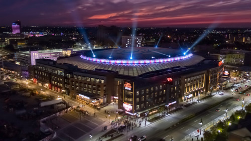 The new Little Caesars Arena in Detroit