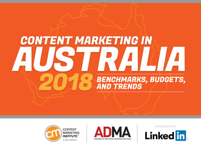 Content Marketing Institute Releases New 2018 Research on State of Content Marketing in Australia