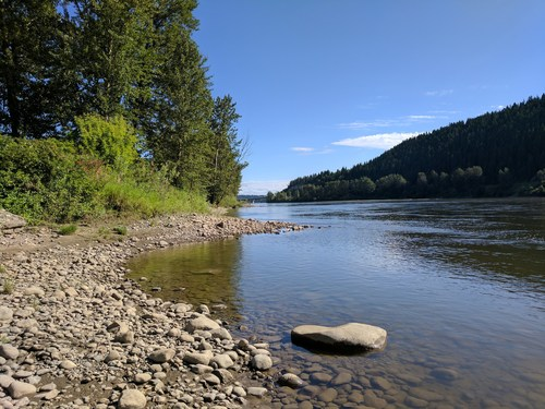 Fraser River, near Prince George, BC. (CNW Group/Real Estate Foundation of BC)