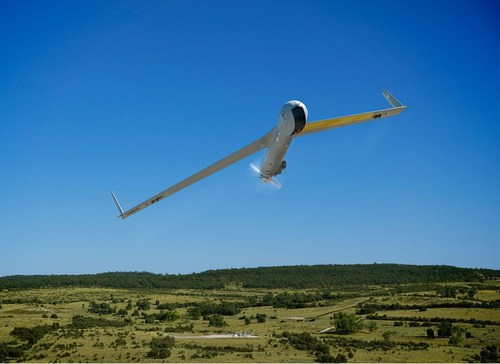 ScanEagle's broad area survey capability means efficient and effective data collection, analysis and delivery for superior decision-making. (PRNewsfoto/Insitu)