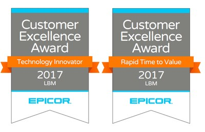 """Our customers are central to everything we do. The Epicor Customer Excellence Award program gives us an opportunity to recognize those customers that are at the forefront of their industries through their use of technology to stimulate business growth. This year we are pleased to highlight Yoder Lumber and Star Lumber for their accomplishments,"" said Kevin Hodge, Director, Product Development and Product Management, LBM, Epicor."