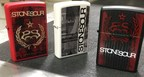 Three limited edition Zippo lighters inspired by the album artwork from Stone Sour's Hydrograd album, available only at the band's tour dates (PRNewsfoto/Zippo Manufacturing Company)