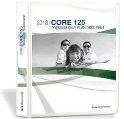 The Core 125 Plan Document package comes with everything employers need to establish an IRS- and DOL-compliant Section 125 Premium-Only plan in PDF format for just $99. This cost reflects a one-time setup fee, not an annual charge.