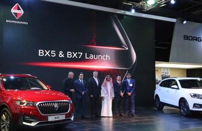 Borgward launches BX7 and BX5 SUVs in Gulf States (PRNewsfoto/BORGWARD Group AG)