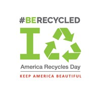 Take the #BeRecycled Pledge on America Recycles Day, a Keep America Beautiful initiative.