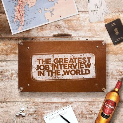 REVEALED! What happened next in 'The Greatest Job Interview in the World' from Grant's Whisky (PRNewsfoto/William Grant & Sons)