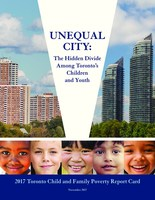 Unequal City (CNW Group/Children's Aid Society of Toronto)