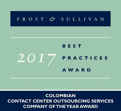 Frost & Sullivan Recognizes Teleperformance in Colombia as Company of the Year in the Contact Center Outsourcing Services Industry
