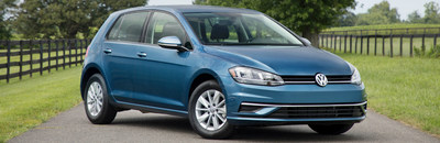 Drivers waiting for the 2018 Volkswagen Golf will soon find it at Douglas Volkswagen.