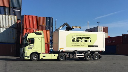 Volvo Group unveils new innovative transport solution to drive safety and productivity (PRNewsfoto/Volvo Group)