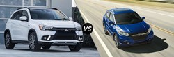 The 2018 Mitsubishi Outlander Sport and 2018 Mitsubishi Mirage G4 are both available for sale in the Spitzer Mitsubishi showroom and offer a strong value compared to popular Honda models.