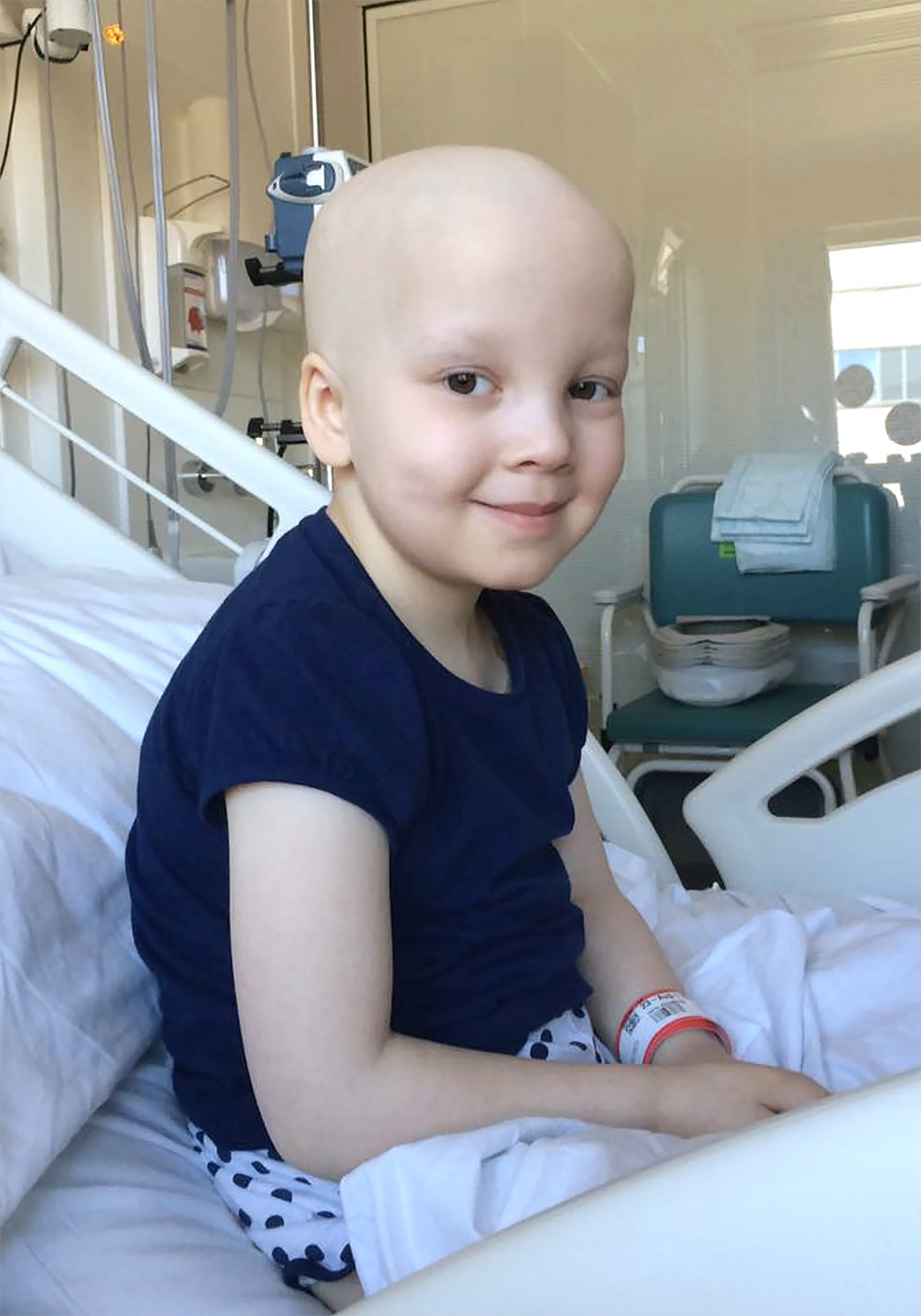 Erin Cross, 7, is one patient who experienced the power of T-cell immunotherapy after traveling to Seattle from her hometown of Chester, England, to receive the experimental therapy. Now, a year later, Erin is still in remission.