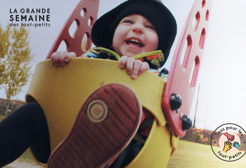 Grande semaine des tout-petits from November 19 to 25 (CNW Group/La Grande semaine des tout-petits)