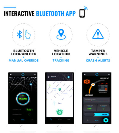 FoxxVault Bluetooth low-energy location system that works and integrates with TrackR