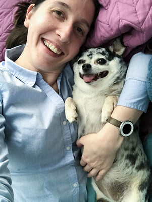 Julia Morley was a resident physician struggling to find inspiration when she visited Humane Animal Rescue in Pennsylvania to meet a lab mix. Instead, she fell in love with Lu-Seal, a 16-lb. Chihuahua who needed to lose half of her body weight.