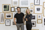 Nate Berkus with Framebridge founder and CEO Susan Tynan