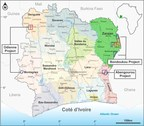 Cote D'Ivoire Project Areas:  Bondoukou, Abengourou, Odienne (CNW Group/Spada Gold Ltd.)