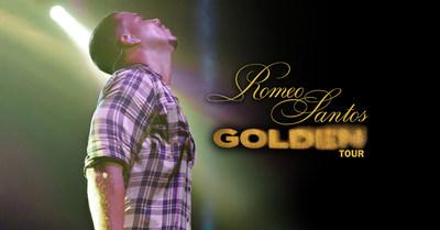 """Romeo Santos, el Rey de la Bachata, anuncia los detalles de """"Golden Tour"""", su gira para 2018"""