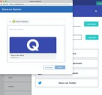 Clicking the Share on Remind button on Quizlet takes educators directly to the Remind composer.
