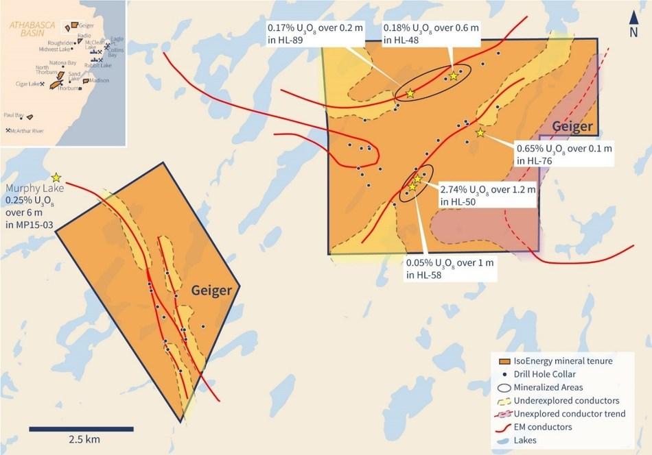 Figure 2 – Geiger Property (CNW Group/IsoEnergy Ltd.)