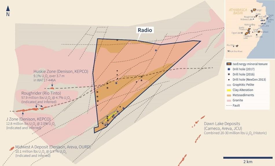 Figure 3 – Radio Property (CNW Group/IsoEnergy Ltd.)