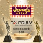 RxPrism Wins MarCom 2017 Platinum and Gold Awards for Creativity and Digital Innovation in Marketing and Communication (PRNewsfoto/RxPrism Health Systems Pvt. Ltd.)