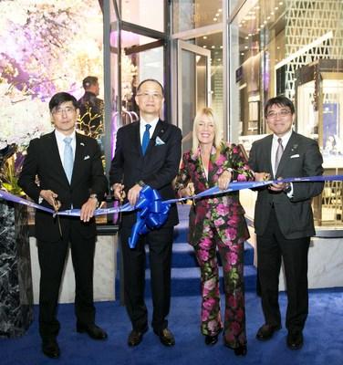 (From left: Mr. Chiba, Mr. Takahashi, Ms. Bosse, Mr. Naito)