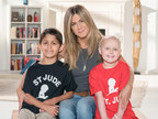 Jennifer Aniston helps kick off the 14th annual St. Jude Thanks and Giving campaign.