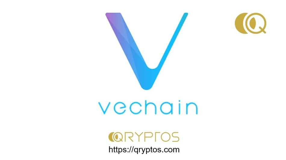 VeChain Announces Listing on QRYPTOS (PRNewsfoto/QUOINE)