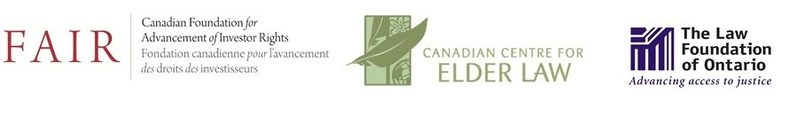 FAIR Canada, CCEL, and The Law Foundation of Ontario (CNW Group/Canadian Foundation for Advancement of Investor Rights)