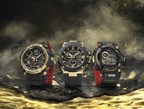 A Special, Limited Edition GOLD TORNADO Collection, Featuring Master of G GRAVITYMASTER, G-STEEL and FROGMAN Timepieces