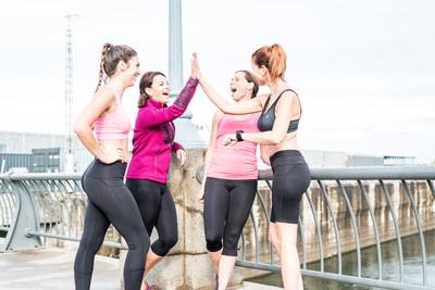 Quatre nouveaux vêtements antifuites urinaires pour femmes actives! La nouvelle collection sera disponible sur www.newex.ca et dans les magasins spécialisés. (Groupe CNW/Newex)