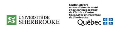 Logo: Université de Sherbrooke ; CIUSS de l'Estrie CHUS (CNW Group/Université de Sherbrooke)