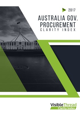 VisibleThread 2017年的研究發現澳洲政府投標文件表述不佳導致浪費和成本增長