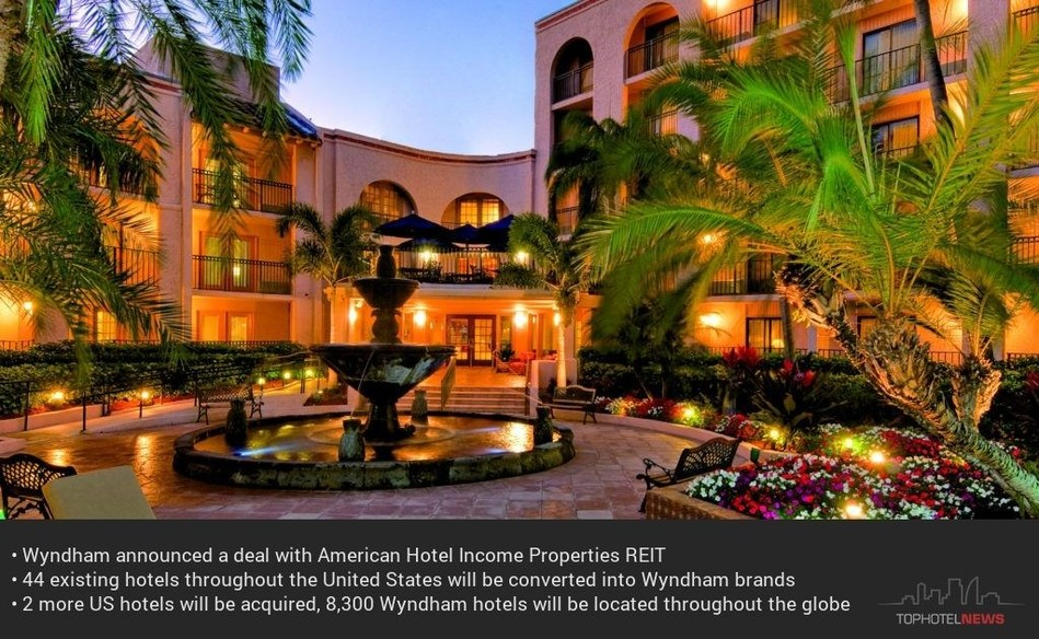 Wyndham Boca Raton, Florida, USA | full Wyndham brand report on https://app.tophotelprojects.com/brand_groups/24 (PRNewsfoto/Tophotel Projects)