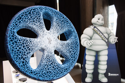 Michelin's Vision Concept Tire of the Future Selected Among TIME Magazine's '25 Best Inventions of 2017'