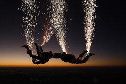 Team Fastrax Pyrotechnic Show