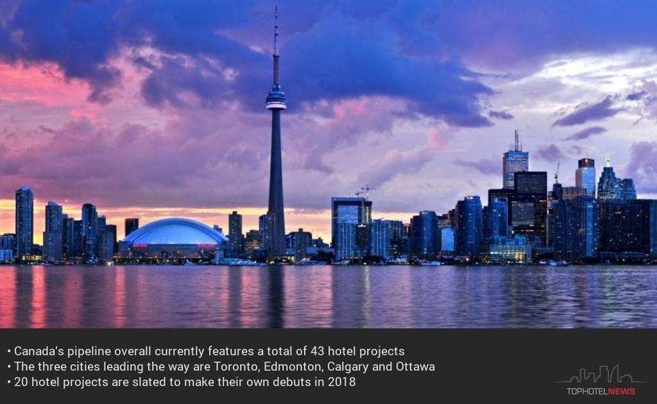 Canada hotel projects (PRNewsfoto/Tophotel Projects)