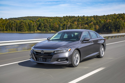 2018 Accord Named Overall Best Buy of 2018 as Honda Models Win 7 of 12 Kelley Blue Book Awards