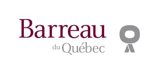 Logo : Barreau du Québec (Groupe CNW/Chambre des notaires du Québec)