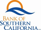 Bank of Southern California Announces Third Quarter Results