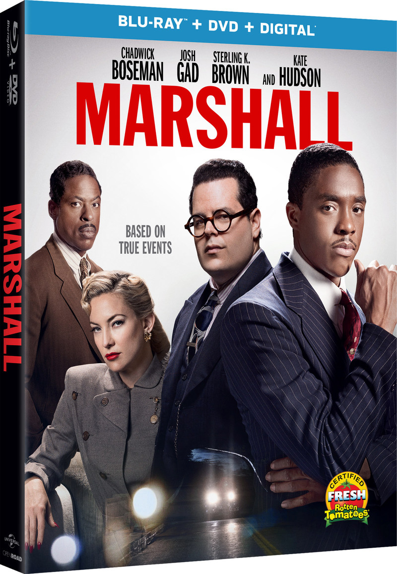 From Universal Pictures Home Entertainment: Marshall