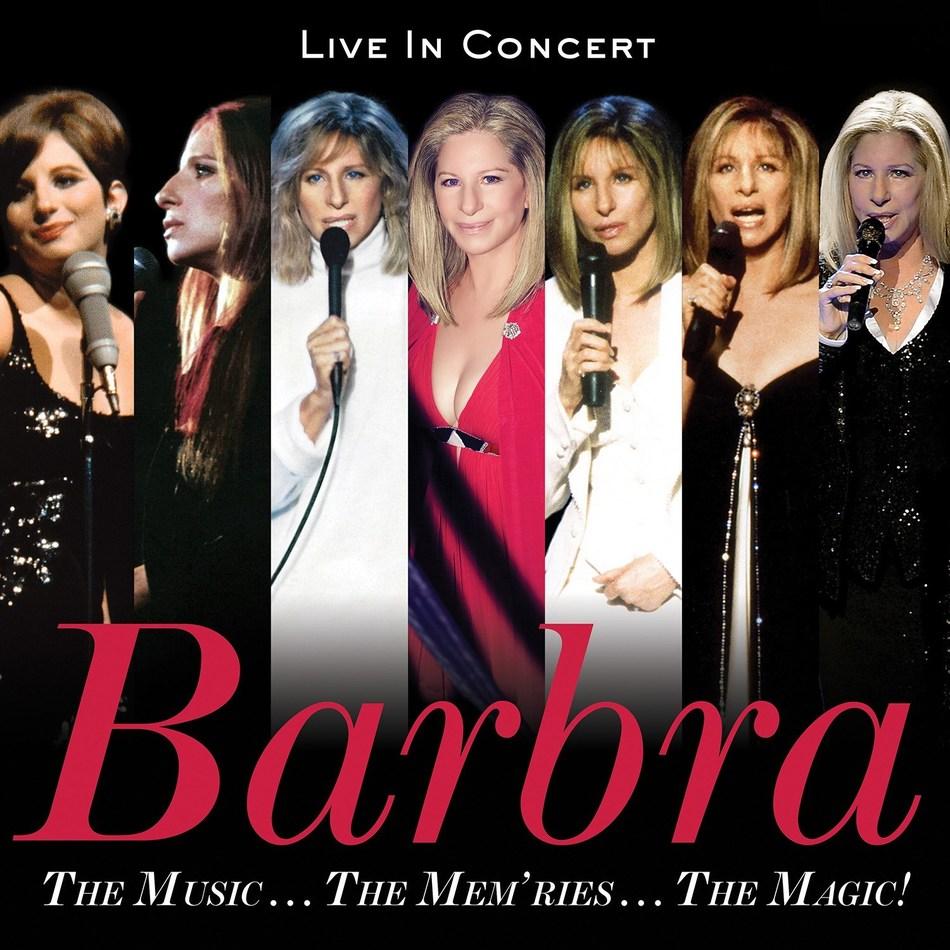 THE MUSIC…THE MEM'RIES…THE MAGIC! BARBRA STREISAND TO RELEASE CONCERT ALBUM DECEMBER 8th; PRE-ORDER AVAILABLE NOVEMBER 17