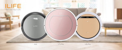 ILIFE Ranked the No. 1 Robot Vacuum Brand During AliExpress 11.11 Global Shopping Festival 2017
