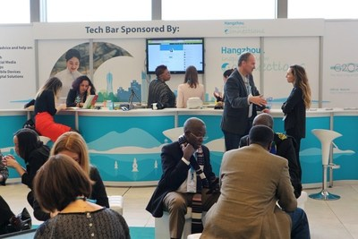 Tech Bar sponsored by Hangzhou at the 56th ICCA Congress