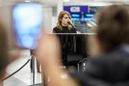 Aéroports de Montréal gave passengers at Montréal-Trudeau a big surprise last night: a free and intimate concert by singer-songwriter Coeur de pirate. (CNW Group/Aéroports de Montréal)