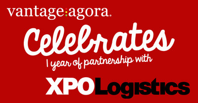 Vantage Agora, Inc. and XPO Logistics, Inc. celebrate one year of partnership in improving the onboarding process for ICs.