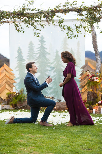 Texas Transplants Meet, Fall in Love and Enjoy Epic Engagement in Los Angeles With the Help of How He Asked and Top Wedding Pros